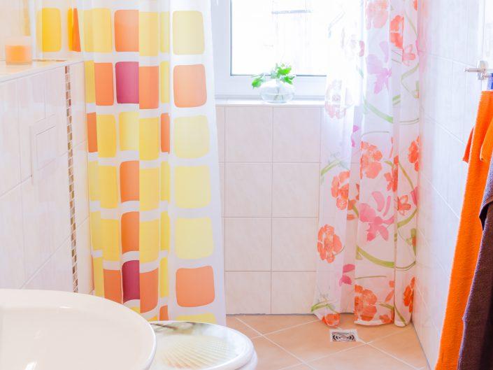 Badezimmer im Gästehaus Sankt Nikolai