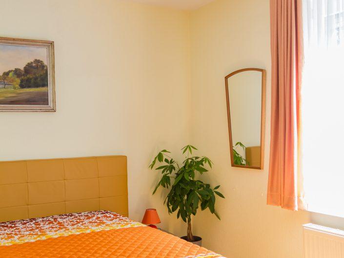 Schlafzimmer im Gästehaus Sankt Nikolai